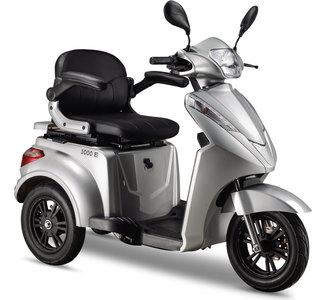 E-scooter E1000 Zilver